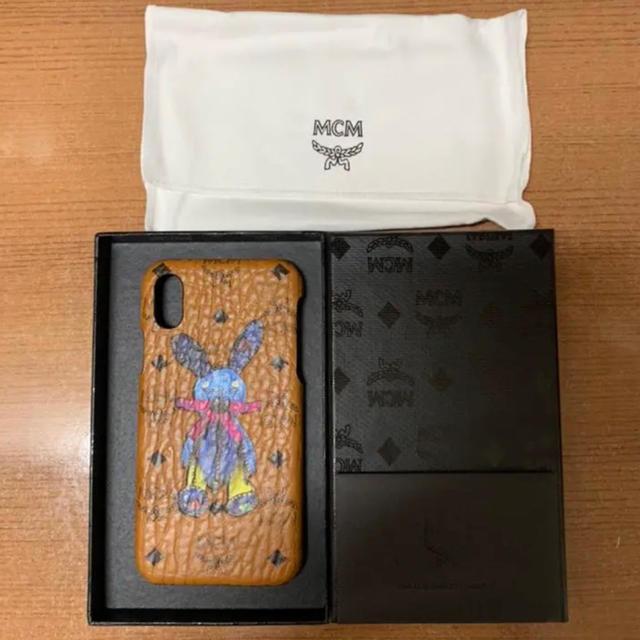 MCM - MCM 大人気 ラビット モノグラム iPhone X/XS ケース ブラウンの通販