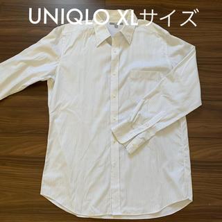 ユニクロ XL ストライプシャツ