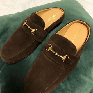 ドゥーズィエムクラス(DEUXIEME CLASSE)の新品CAMINANDOスリッポン36DEUXIEMECLASSE購入(ローファー/革靴)
