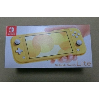 ニンテンドースイッチ(Nintendo Switch)のNintendo Switch Lite イエロー ターコイズ(家庭用ゲーム機本体)
