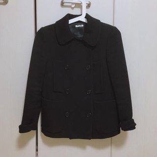 ミュウミュウ(miumiu)のミュウミュウ コート ジャケット(ピーコート)