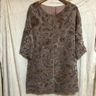 ユナイテッドアローズ(UNITED ARROWS)のジャガード織りワンピース(ひざ丈ワンピース)