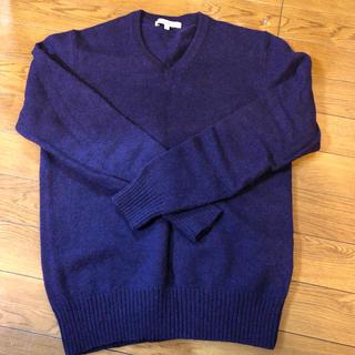 ユニクロ(UNIQLO)のユニクロ ラムウール セーター(ニット/セーター)