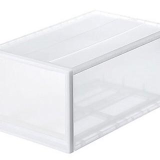 MUJI (無印良品) - 無印良品 ポリプロピレン衣装ケース 引出式 深 1箱(2個入) 良品計画