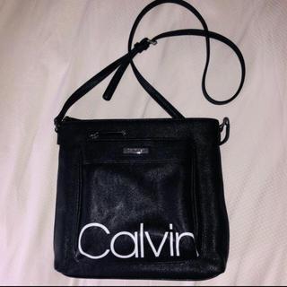 Calvin Klein - カルバンクライン ポシェット 新品 黒 正規品 バッグ 送料込み