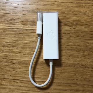 マック(Mac (Apple))のApple USB Ethernet アダプタ 純正品(PC周辺機器)