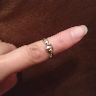k18\シルバーリングとピアス  天使の卵(リング(指輪))