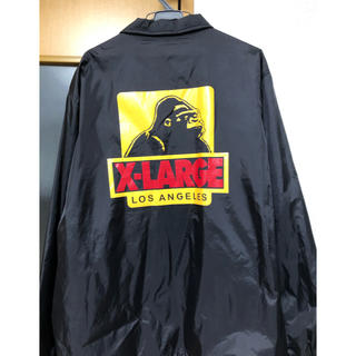 エクストララージ(XLARGE)のX-large コーチジャケット(ナイロンジャケット)