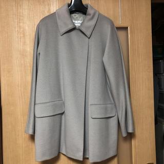 マックスマーラ(Max Mara)の美品  マックスマーラのライトグレーのコート(チェスターコート)