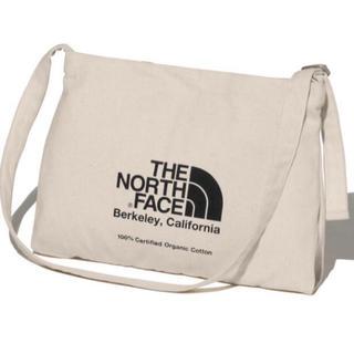 ザノースフェイス(THE NORTH FACE)の新品 ノースフェイス ショルダー ミュゼット バッグ サコッシュ ブラック(ショルダーバッグ)