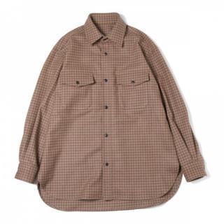 URU(ウル) 18FUS04BCPO SHIRTS シーピーオーシャツ(シャツ)
