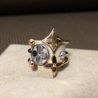 ルイヴィトン(LOUIS VUITTON)のルイヴィトン  K18 ダイヤモンド リング(指輪)(リング(指輪))