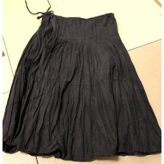 COMME CA ISM - スカート 黒 コムサイズム