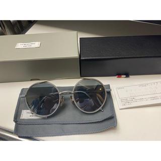 トムブラウン(THOM BROWNE)のトムブラウン TB-108 グレー 眼鏡 メガネ オブジェ 保証書(サングラス/メガネ)