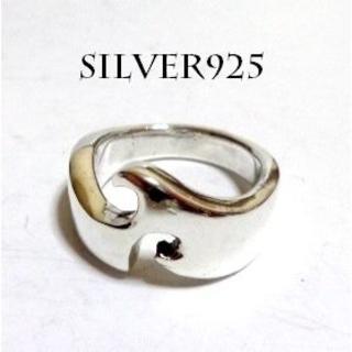 2665 SIRVER925 ダイカット トライバルリング11号 シルバー925(リング(指輪))