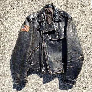 ザリアルマッコイズ(THE REAL McCOY'S)の50年代 buco ライダースジャケット レザージャケット ブコ (ライダースジャケット)