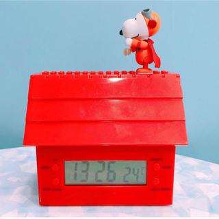 スヌーピー(SNOOPY)の台湾限定 スヌーピー 電子時計 ★(置時計)