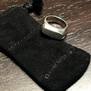 クロムハーツ(Chrome Hearts)のクロムハーツ リトルPJプレーンリング(リング(指輪))