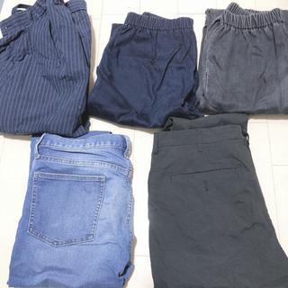 GU - メンズパンツセット ウエス76cm Mサイズ GU 古着 服 ズボン ボトム