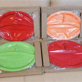 ルクルーゼ(LE CREUSET)の非売品 未開封 ル・クルーゼ ワンプレート ディッシュ 全3色 4枚 セット 皿(ノベルティグッズ)