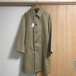 GU - 【新品】MBさん紹介 コーデュロイビッグコート ベージュ Mサイズ【gu】