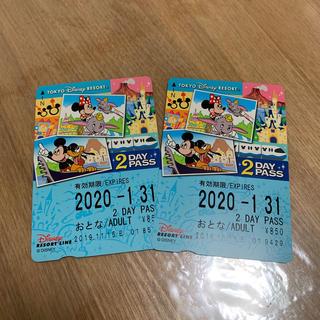 ディズニー(Disney)のディズニーリゾートラインチケット(その他)