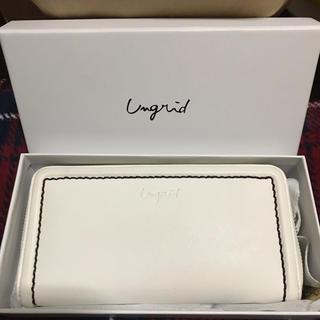 アングリッド(Ungrid)のungrid オフホワイト 財布 ウォレット(財布)