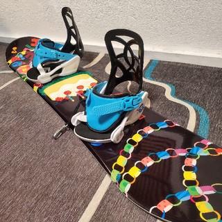 ロシニョール(ROSSIGNOL)のスノーボード キッズ セット ジュニア 子供 ロシニョール SLQ(ボード)