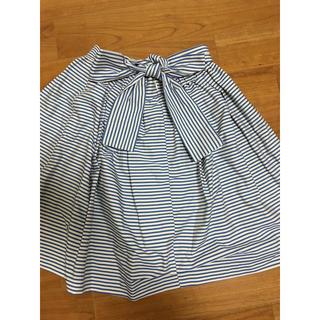 ストロベリーフィールズ(STRAWBERRY-FIELDS)のひざ丈スカート(ひざ丈スカート)