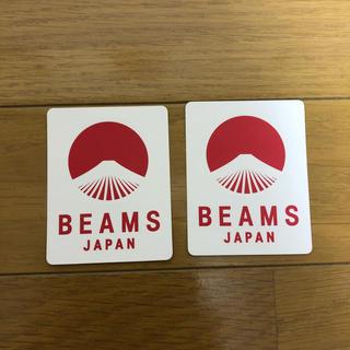 ビームス(BEAMS)のBEAMSJAPAN×TSUTAYA ステッカー(ノベルティグッズ)