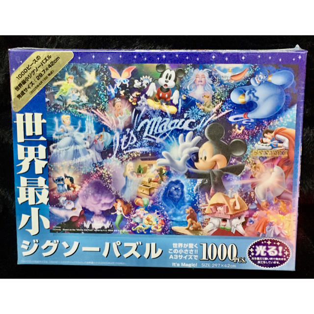 Disney(ディズニー)の光る パズル 1000ピース エンタメ/ホビーのおもちゃ/ぬいぐるみ(キャラクターグッズ)の商品写真