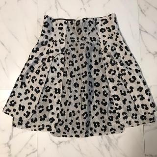 トーガ(TOGA)のToga レオパードスカート (ひざ丈スカート)