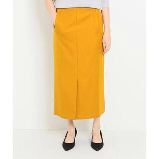 イエナスローブ(IENA SLOBE)のSLOBE IENA サイドポケットスカート(ひざ丈スカート)