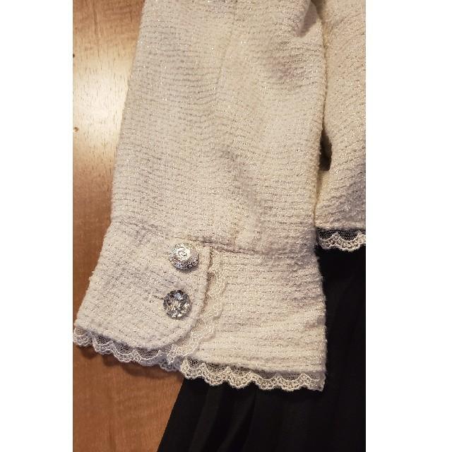 anyFAM(エニィファム)のanyFAMスーツ120 *5点セット* キッズ/ベビー/マタニティのキッズ服女の子用(90cm~)(ドレス/フォーマル)の商品写真