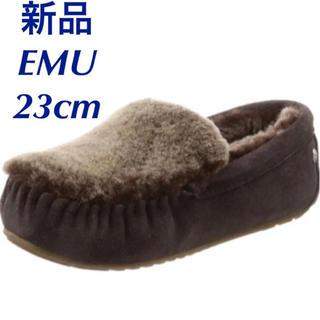 EMU - 期間限定値下げ★新品★EMU エミュー ケアンズリバースファー モカシン US6