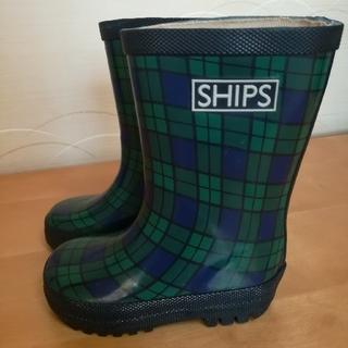 SHIPS - SHIPS シップス レインブーツ 長靴 13.5cm 14cm
