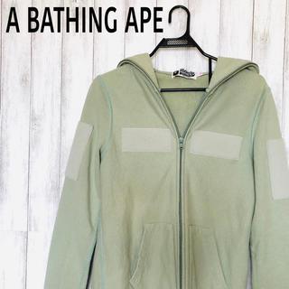 A BATHING APE - A BATHING APE フルジップアップパーカー レディース