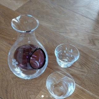 トウヨウササキガラス(東洋佐々木ガラス)の佐々木クリスタル 冷酒グラス セット(アルコールグッズ)