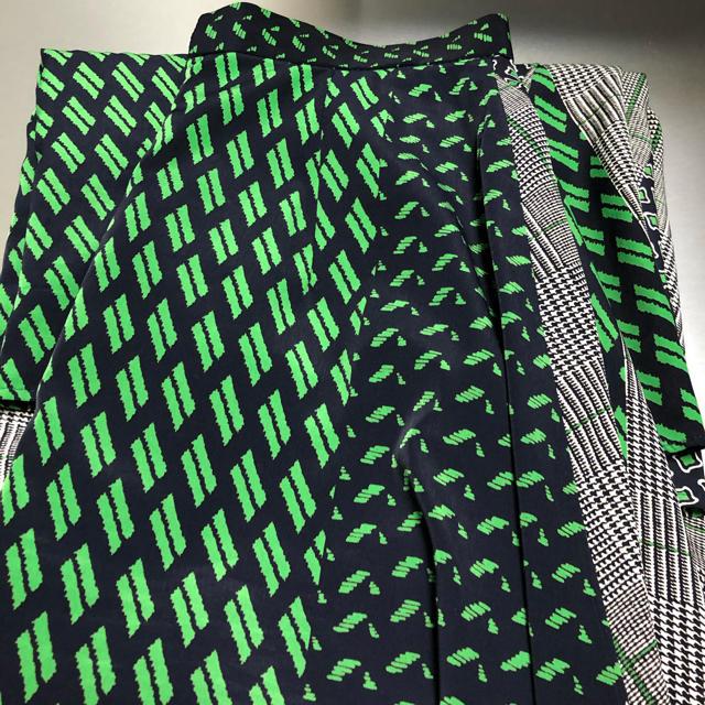 UNITED ARROWS(ユナイテッドアローズ)のUNITED ARROWS UWSC マルチプリント ラップスカート† レディースのスカート(ロングスカート)の商品写真