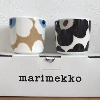 marimekko - 【在庫残り1点】マリメッコ ウニッコ ラテマグ 2個セット 新品未使用