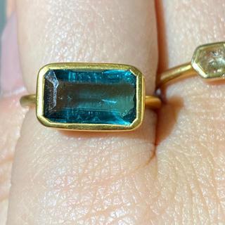 ブルートルマリン k18 ゴールドリング指輪 検索 マリーエレーヌ ジェムパレス(リング(指輪))