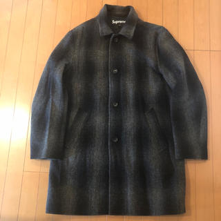 シュプリーム(Supreme)のSUPREME Shadow Plaid Wool Over Coat box(チェスターコート)