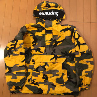 シュプリーム(Supreme)のsupreme Hooded Logo Half Zip Pullover (ナイロンジャケット)