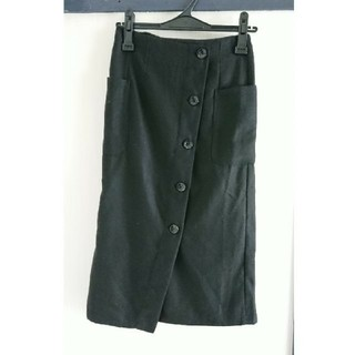 ジーナシス(JEANASIS)の前ボタンタイトスカート(ロングスカート)