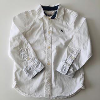 エイチアンドエム(H&M)の新品 H&M 白シャツ 110cm(ブラウス)