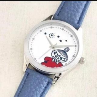 リトルミー(Little Me)のクックパッドプラス ムーミン リトルミイ本格腕時計   (腕時計)