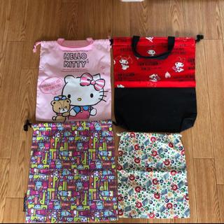 サンリオ - ☆サンリオ パーティーパーティー お着替え袋 給食袋 巾着袋 巾着バッグ☆☆☆