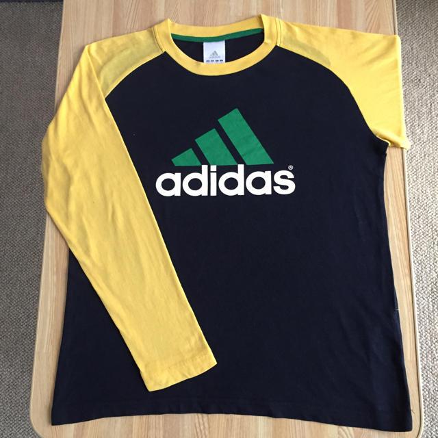 adidas(アディダス)のadidas長袖Tシャツ2枚組セット キッズ/ベビー/マタニティのキッズ服男の子用(90cm~)(Tシャツ/カットソー)の商品写真