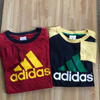 adidas - adidas長袖Tシャツ2枚組セット