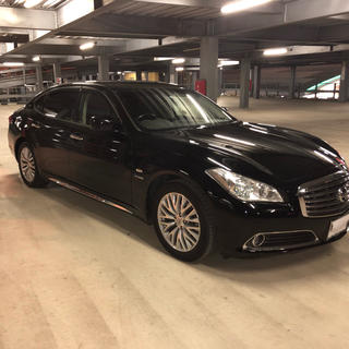ニッサン(日産)のy51 シーマハイブリッド VIP G  フルオプション 車検ロング(車体)